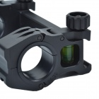 M10QD-01 30mm calibre profilés aluminium alliage support Dual-Scope Mount - noir