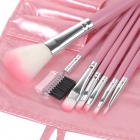 7-in-1 Cosmetic Makeup Brush Tools Set w/ Carrying Bag
