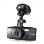 "AT400 2.7"" TFT LCD 5.0 MP 1080P Wide Angle Lens Car DVR w/ HDMI / G-sensor / TF - Black"