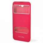 GUCEEL Protective PU Leather Case Cover Stand w/ Visual Window for Samsung Galaxy Note 2 N7100