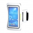 Wellhouse WH-00603 Sports Gym PU + Neoprene Armband Case for Samsung Galaxy S3 / S4 - White + Black