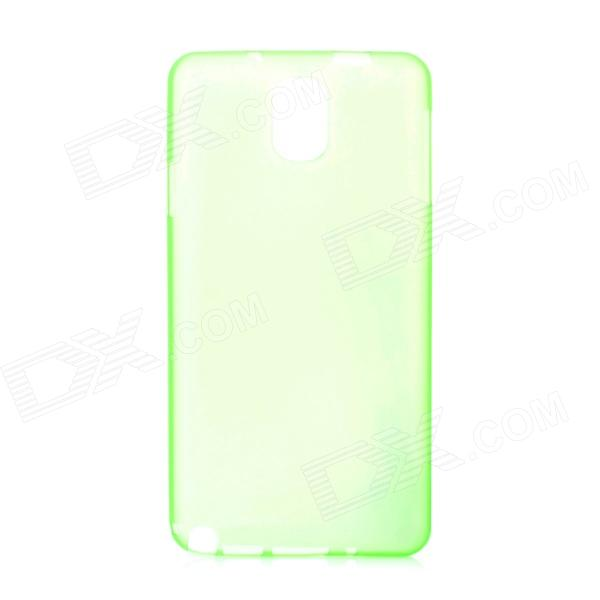 Ultrathin Protective Plastic Back Case for Samsung Galaxy Note 3 - Translucent Green