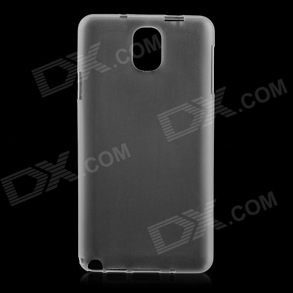 Ultrathin Protective Plastic Back Case for Samsung Galaxy Note 3 - Translucent White