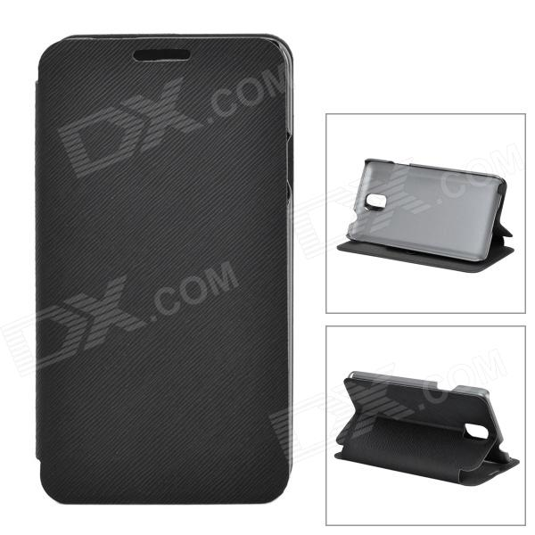 Stylish Protective PU Leather Case for Samsung Galaxy Note 3 - Black рюкзак case logic 17 3 prevailer black prev217blk mid