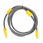 Universal HDMI Male to Mini HDMI Male HD Cable - Grey + Yellow (3m)