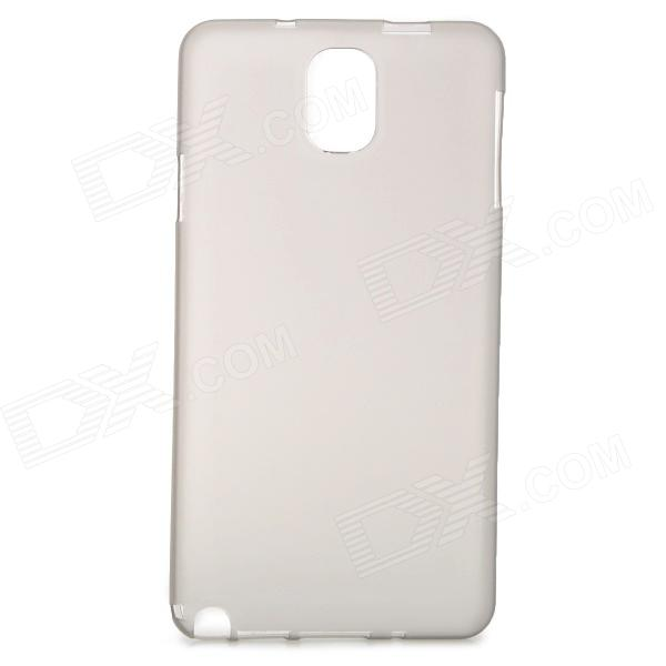 Ultrathin Protective Plastic Back Case for Samsung Galaxy Note 3 - Translucent Grey