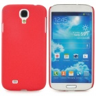 Quicksand Style Protective Plastic Back Case for Samsung Galaxy S4 i9500 - Red