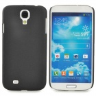 Quicksand Style Protective Plastic Back Case for Samsung Galaxy S4 i9500 - Black