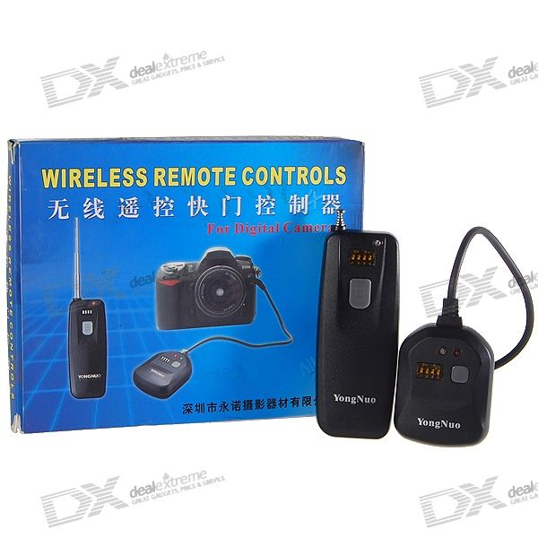 RF Wireless Remote Control for Canon 450D/Samsung GX-20/Pentax K20D + More Digital Camera (DSLR)