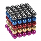 CHEERLINK BB-125 de 5 mm de neodimio hierro DIY juguetes educativos Set - multicolor (125 PCS)