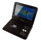 "FJD-960 Portable 9"" LCD Mobile DVD Player w/ TV, FM, SD Card Reader, Game and USB - Black"