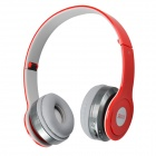 Buy SOUND FRIEND SF-SH009B Stereo Bluetooth V3.0 Headset Headphones Microphone - Red