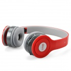 SOUND FRIEND SF-SH009B Stereo Bluetooth V3.0 Headset Headphones with Microphone - Red
