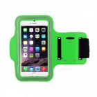 Sports Gym Neoprene Armband Case for Samsung Galaxy Note 3 N9000 - Green + Black + Grey