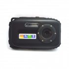 "DC-B168 2.7"" TFT Mini Sports DV 5.0 MP CMOS Water Resistant Camera Camcorder - Black"