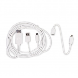 MOCREO Micro USB 1080p MHL to HDMI Adapter Cable for Samsung/ HTC/ other Smart Phone with MHL Port