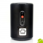 Jesurun Q8 Quad-Core Android 4.2.2 Smart TV Box w / 2.0 MP Kamera / MIC / Bluetooth - Schwarz