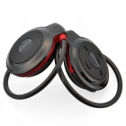 Mini-503 Bluetooth V2.1 + EDR Stereo Headset - Svart + Röd