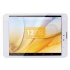 "TOMATO T1 7.9"" IPS Quad-Core Android 4.2 3G Phone Tablet PC w/ 1GB RAM, 8GB ROM - White + Silver"