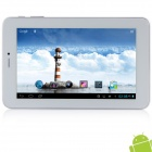 "AMPE A79 7.0"" IPS Android 4.1.2 Dual Core 3G Tablet PC w/ Phone call, Wi-Fi, GPS - White + Silver"