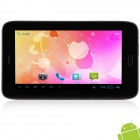 "KVD T95 7.0"" Android 4.2.2 3G Tablet PC w/ Phone call, Dual Camera, Bluetooth, Wi-Fi, TF - Black"