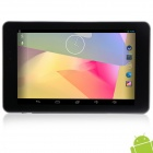 "PIPO U6 7.0"" IPS Android 4.2.2 Quad-Core Tablet PC w/ 1GB RAM, 16GB ROM, Wi-Fi, GPS and HDMI - Black"