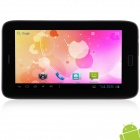 "KVD T95 7.0"" Android 4.2.2 3G Tablet PC w/ Phone Call, Dual Camera, Bluetooth, Wi-Fi - Black + White"