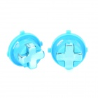 Replacement Revolving Cross Button Game Pad Key for XBOX 360sim - Blue (2 CPS)