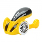 Hi-Fi Concept Car Shaped Mini Speaker w/ TF - Yellow + Black