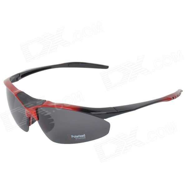CARSHIRO 1105 Outdoor Cycling UV400 Protection Sunglasses w/ Replacement Lenses - Black + Red topeak outdoor sports cycling photochromic sun glasses bicycle sunglasses mtb nxt lenses glasses eyewear goggles 3 colors