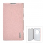 USAMS EOSHY02 Protective PU Leather + PC Case for Nokia Lumia 1020 EOS - Pink Champagne