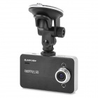 "BLACKVIEW K6000 2.7"" TFT 3.0MP CMOS Wide Angle Car DVR w/ G-sensor / Mic / TF / 2-LED - Black"