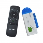 DITTER T19 Dual-Core Android 4.2 Google TV HD Player w/ 1GB RAM / 8GB ROM + Air Mouse - White