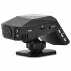 "BLACKVIEW LD100 2.0"" TFT 3.0MP CMOS Wide Angle Car DVR w/ G-sensor / Mic / TF / 4-IR Vision - Black"
