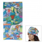 SAHOO Multifunction Polyester Fiber Quick Drying Headscarf