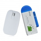 DITTER V19 Dual-Core Android 4.2 Google TV HD Player w / 1GB RAM / 8GB ROM + Air Mouse - White