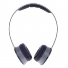 Sibyl X2 Stylish Stereo Bass Headphones - Black + Grey (3.5mm Plug / 110cm-Cable)