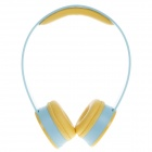 Sibyl X2 Stylish Stereo Bass Headphones - Blue + Yellow (3.5mm Plug / 110cm-Cable)