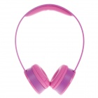 Sibyl X2 Stylish Stereo Bass Headphones - Purple + Deep Pink (3.5mm Plug / 110cm-Cable)