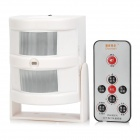 iDoorbell PT668 Bidirectional Infrared Induction Remote Door Bell / Welcome / Alarm Device - White