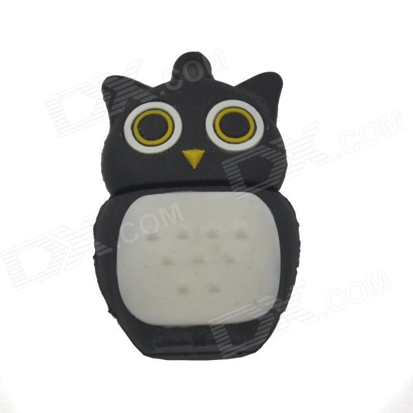 Eagle Style USB 2.0 Flash Drive Disk - Black + White (16GB) penguin style usb 2 0 flash drive disk black white 4gb