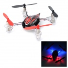 WLtoys V252 2.4GHz Mini 4-CH R/C Quadcopter w/ 6-Axis Gyro - Red + Black
