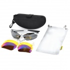 Windspeed Sporty Goggles + Replacement Lenses Set for Cycling & Outdoor Exercises