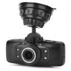 "X90 2.7"" TFT CMOS 1.3MP 3.0MP Dual-Camera Wide Angle Car DVR w/ G-sensor / TF / 4-IR Vision - Black"