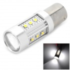 YLF-25W-5LEDs1156 1156 15W 600lm 6500K 15-SMD 2323 LED White Light Car Lamp - Silver (DC 12~24V)