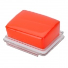 Waterproof Foam Floaty Backdoor  w/ 3M Adhesive Tape for Gopro Hero 3 / 2 / 1 - Orange + Transparent