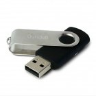 Ourspop U016 Swivel USB 3.0 Flash Driver Disk - Black + Silver (8GB)