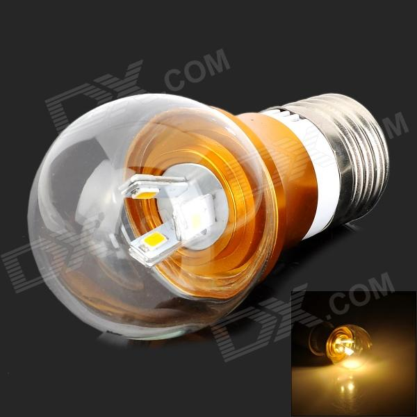 Y-LGX3W E27 300lm 3500K 6-SMD 5730 LED Warm White Light Bulb (85~265V) lexing lx r7s 2 5w 410lm 7000k 12 5730 smd white light project lamp beige silver ac 85 265v