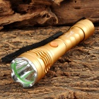 UltraFire XL-012 100lm 3-Mode White Flashlight w/ Cree XP-E Q5 - Golden (1 x 14500 / AA)