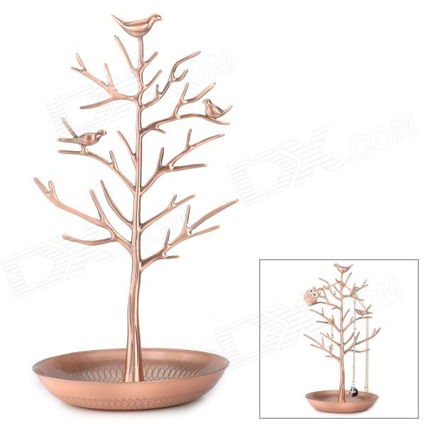 Jewelry Earring Necklace Ring Bird Tree Stand Holder Display Rack от DX.com INT